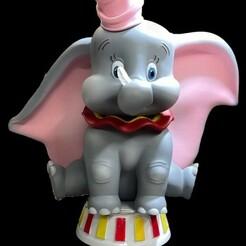 PhotoRoom_20210109_074110.jpeg Télécharger fichier STL Dumbo STL • Plan imprimable en 3D, romwba