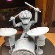 Descargar archivos STL Animal con Tambores Muppets STL, romwba
