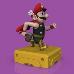 Télécharger objet 3D Mario / Thor Thorio ! STL, romwba