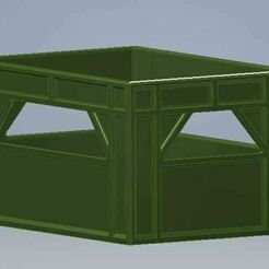 beercase6x33pripps.JPG Download STL file Beer Case 6x33cl Plastic • 3D printer model, bifrost76