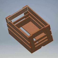 beercase6x33wood.JPG Télécharger fichier STL Caisse de bière 6x33cl bois • Objet imprimable en 3D, bifrost76