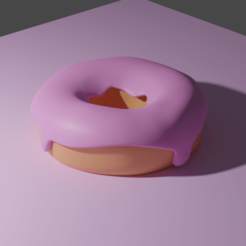 DNOUT1.png Download STL file Donut • 3D printing model, Lubal