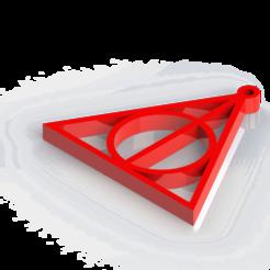 Untitled.png Télécharger fichier STL LES RELIQUES DE LA MORT D'HARRY POTTER • Design pour imprimante 3D, Lubal