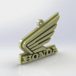 Descargar archivo 3D Llavero HONDA, Lubal