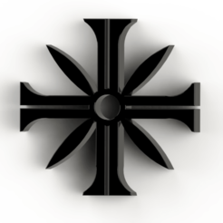 Télécharger STL gratuit Far cray 5 Logo, Lubal
