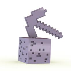 Sin título.png Télécharger fichier STL Minecraft • Plan pour imprimante 3D, Lubal