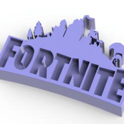 Sin título.png Télécharger fichier STL Logo FORTNITE • Objet pour impression 3D, Lubal