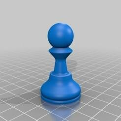Pawn.jpg Télécharger fichier STL gratuit Peon • Modèle imprimable en 3D, Lubal