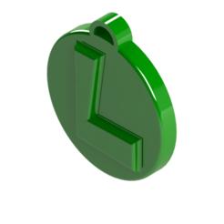 Download STL Key ring L, Lubal