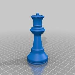 Queen.jpg Télécharger fichier STL gratuit Reine • Modèle à imprimer en 3D, Lubal