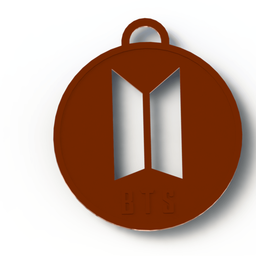 Download 3D printer files BTS KEYRING, Lubal