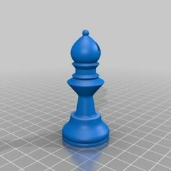 Bishop.jpg Télécharger fichier STL gratuit Évêque • Plan imprimable en 3D, Lubal