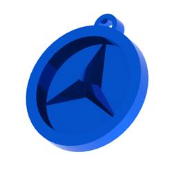 Diseño sin título (5).png Télécharger fichier STL Porte-clés Mercedes Benz • Objet pour impression 3D, Lubal