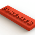 Fornite2.png Download free STL file FORTNITE key ring • Model to 3D print, Lubal