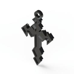 Sin título.png Télécharger fichier STL CROIX • Design pour imprimante 3D, Lubal