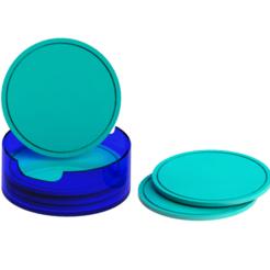 Descargar diseños 3D Porta vaso, Lubal