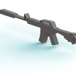 Download 3D printing designs M4A1 Csgo, Lubal