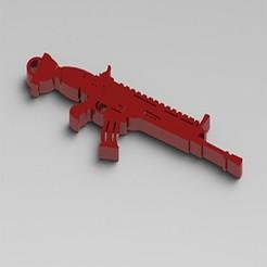 Descargar modelo 3D SCAR FORTNITE, Lubal