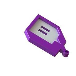 Untitledwww.JPG Download STL file Twich • 3D printer template, Lubal
