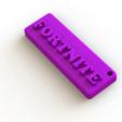 Fornite3.png Download free STL file FORTNITE key ring • Model to 3D print, Lubal