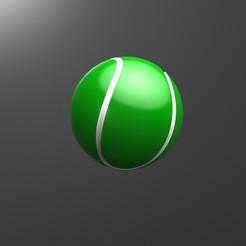 054196.JPG Download STL file Tennis ball • 3D printable design, Lubal