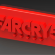 Download free STL file Far Cry 5 key ring • 3D print design, Lubal