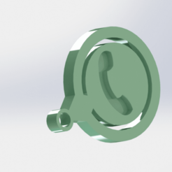 1 (2).png Download STL file Whatsapp • 3D print model, Lubal