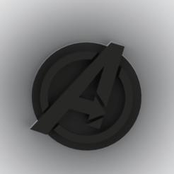 Descargar modelos 3D para imprimir avengers pin + Advenger llavero, Lubal