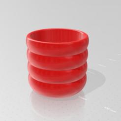 Descargar archivo 3D olla redonda, boj