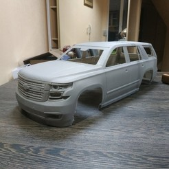 Download 3D printer designs Chevrolet Tahoe/suburban 2015 RC BODY, PrintYourRC