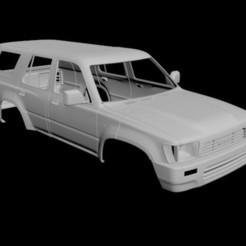 Descargar modelos 3D Toyota 4runner 1989-1997 (CUERPO RC), PrintYourRC