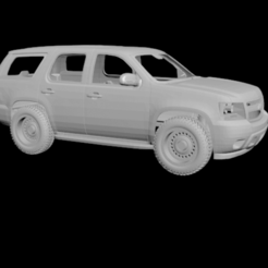 123.png Download OBJ file RC body Chevrolet Tahoe 2010 (SCX10) • 3D printing design, PrintYourRC