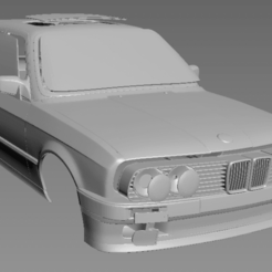 Download 3D printing files BMW E30 touring 1/24, PrintYourRC