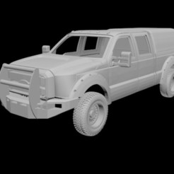 1.jpg Download STL file FORD F250 singlecab 1/24 • 3D print template, PrintYourRC