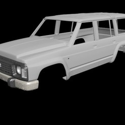 Download 3D printing designs Nissan Patrol Y60(Rc body), PrintYourRC
