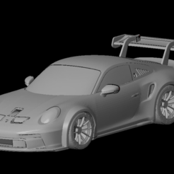 Безымянный1.png Download OBJ file Porsche 911 gt3 cup 2021 (1/24-1/10) • 3D printer template, PrintYourRC