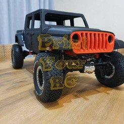 Télécharger fichier 3D Jeep Gladiator 2020 rc body, PrintYourRC