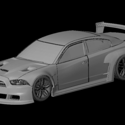 Безымянный.png Télécharger fichier OBJ Dodge Charger '12 (1/24-1/10) • Objet imprimable en 3D, PrintYourRC