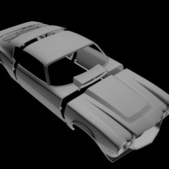 1.jpg Download OBJ file Chevolet Camaro 1970 RC body • 3D printing object, PrintYourRC