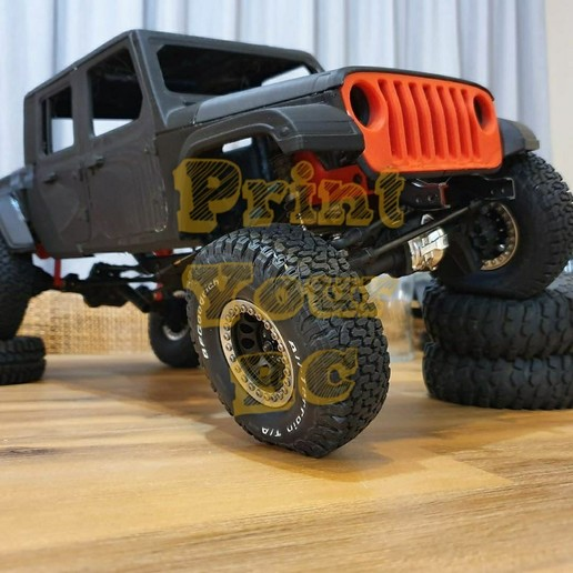 Download 3d Print Files Jeep Gladiator 2020 Rc Body ・ Cults