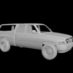 2.jpg Télécharger fichier OBJ Corps RC Dodge RAM 1500 1999 • Modèle pour imprimante 3D, PrintYourRC