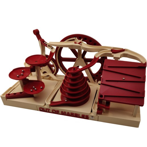 Download 3D model Triple Marble Machine - The Two Wheeler - Out Of Marbles, OutOfMarbles