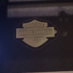 Download free STL HARLEY DAVIDSON KEY CHAIN, RexDeLorean