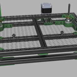 Download 3D printer model Lazr_bed Open Source Z Table, AaronMakes