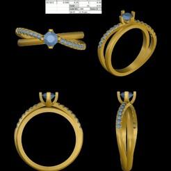 1.jpeg Download STL file Solitary Beutyfull Looking Ring • 3D print template, rimpapramanik82