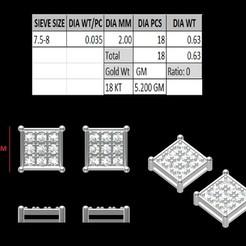 Download 3D printer model Tops Earing, rimpapramanik82