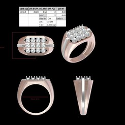 Download 3D printer designs Gents Ring, rimpapramanik82