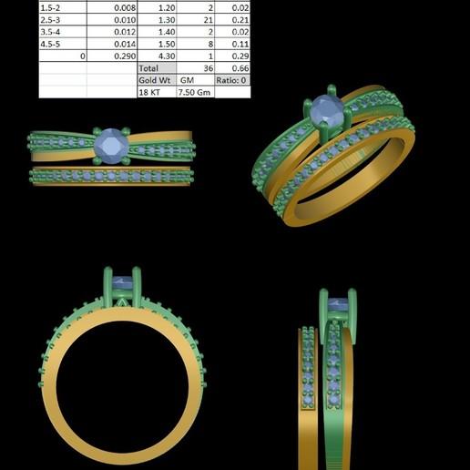 Download 3D printer files vintage engagement rings, rimpapramanik82