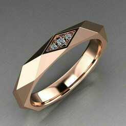 333.jpeg Download STL file Diamond Ring Cutting with beuty full look • 3D print object, rimpapramanik82