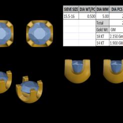 Télécharger plan imprimante 3D Tops Earing, rimpapramanik82